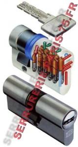 Cylindre DOM européen sytème IX 10