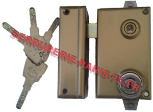 Serrure JPM Keso 2000 multipoints verticale fouillot main gauche