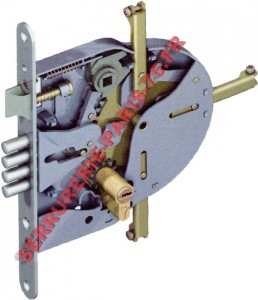 Serrure Mul-T-Lock modèle 265 multipoints à larder