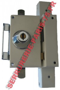 Serrure VAK multipoints verticale tirage main droite